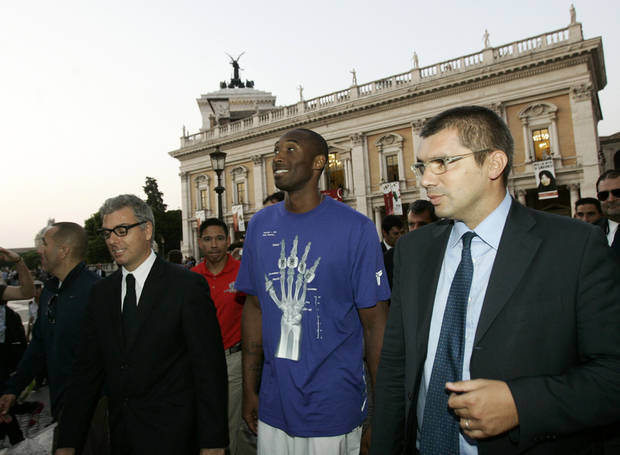In Europe, Kobe Bryant recalled for his 'Italian qualities'