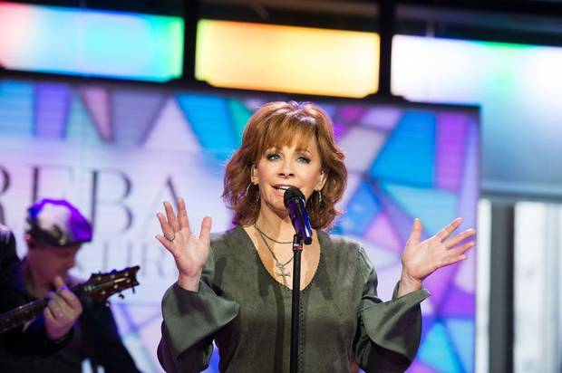 "Reba McEntire performs songs from her new album ""Sing It Now: Songs of Faith & Hope"" this morning on the ""Today"" show. Photo provided"