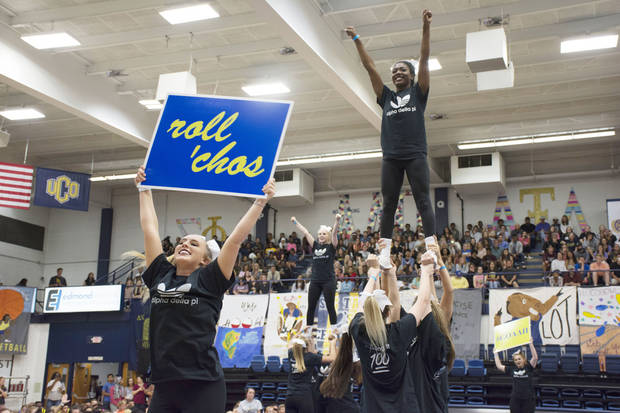 UCO celebrates homecoming, gives to infants