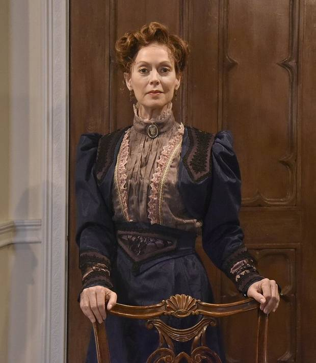 "Stacey Logan stars in Oklahoma City Repertory Theatre's Oklahoma premiere production of ""A Doll's House, Part 2."" [Mutz Photography]"