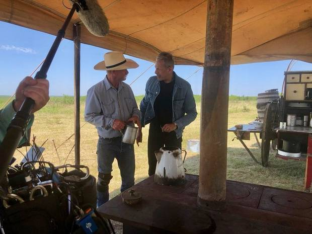 Oklahoma native and cowboy coffee connoisseur Kent Rollins featured on Disney+ series 'The World According to Jeff Goldblum'