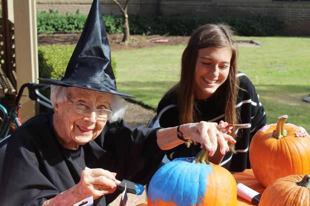 Heritage Hall students share time with adopted grandparents | The Oklahoman