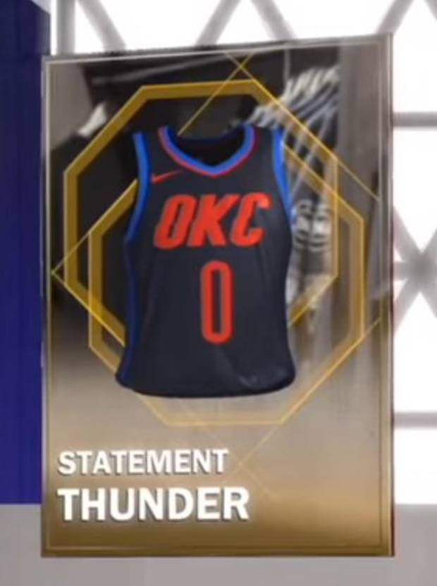 Are these dark navy uniforms a new Thunder alternate   YOUTUBE USER SCREEN  SHOT  5d14a2868