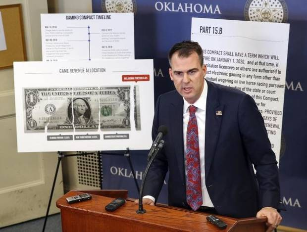 Gov. Stitt, tribes submit legal arguments in dispute over state gaming compacts