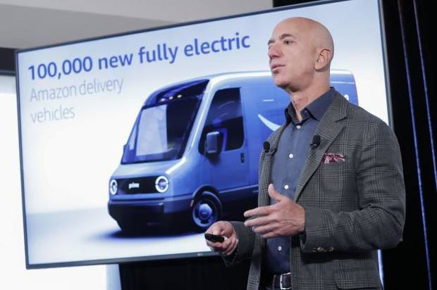 Amazon takes steps to tackle climate change