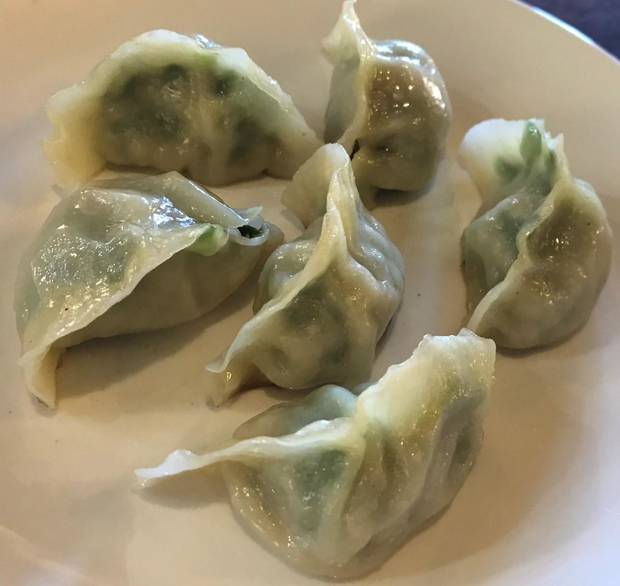Pot stickers from Northern Noodle House in Oklahoma City. [Dave Cathey/The Oklahoman]