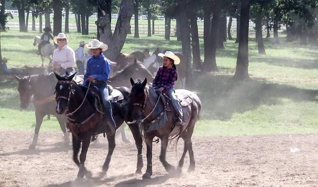 "Colorado-based Hodge Productions will begin filming the new season of the nationally televised series ""Little Britches Rodeo"" Tuesday in Guthrie. [Photo provided]"
