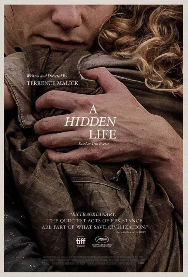 "Bartlesville-bred director Terrence Malick's new film ""A Hidden Life"" will be released in theaters in December via Fox Searchlight Pictures. [Poster image provided]"