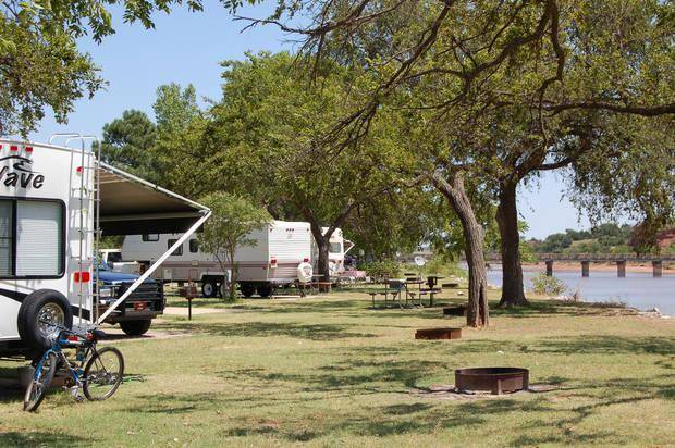 10 oklahoma locations to visit before summer ends news ok for Camping cabins in oklahoma