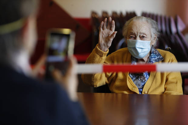 'We are in prison': France opens nursing homes, exposes pain