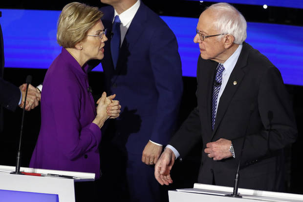 Warren-Sanders dust-up gets 'who cares?' from Iowa Democrats