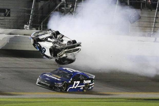 Safety improvements made after Earnhardt's may have saved Newman's life