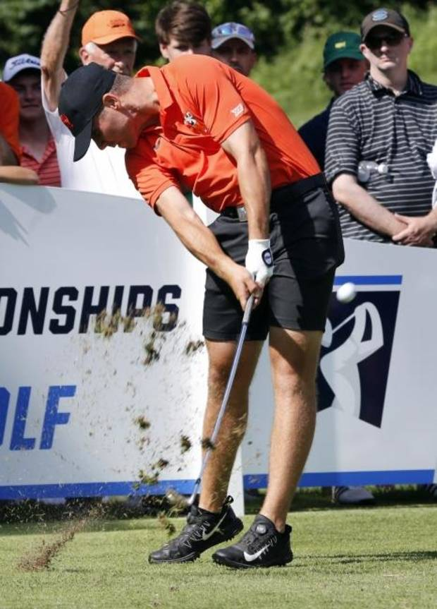 College golf: Matthew Wolff's move to start his swing — in his words