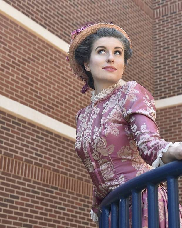 "Mary Beth Nelson stars in Painted Sky Opera's ""The Barber of Seville"" on Sept 20, 22, and 27. [Mutz Photography]"