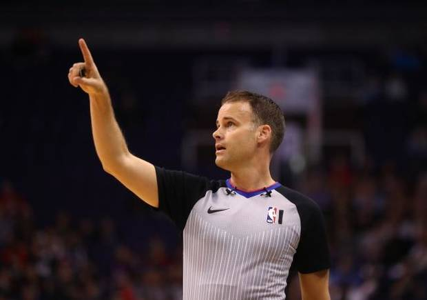 'So much bigger than basketball': How Thunder-Jazz referee, wife each had front-row seats for coronavirus