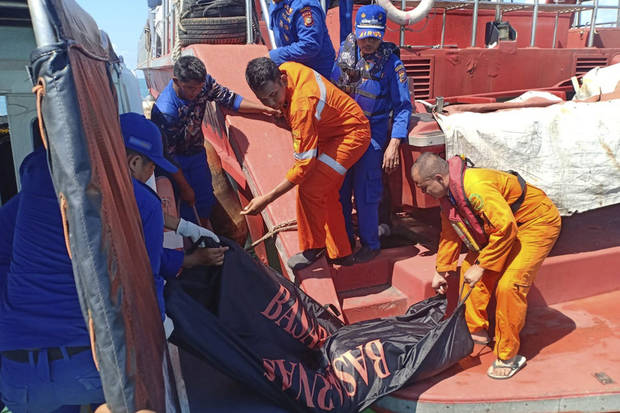 Migrant boat sinks in Indonesia; 10 rescued, 9 missing