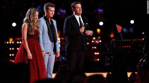 'The Voice' crowns new winner