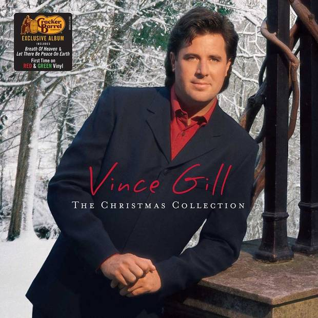 vince gill the christmas collection has been released as a limited edition