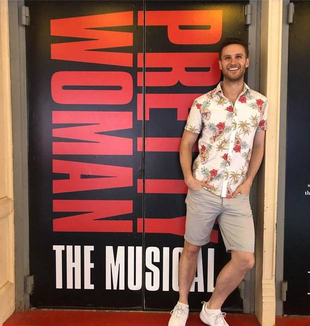"Edmond native Christopher Rice is returning to Broadway in the musical adaptation of the movie ""Pretty Woman."" [Photo via Facebook]"