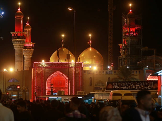 Shiite Muslims observe holy day amid regional tensions
