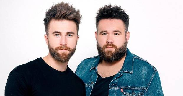 The Swon Brothers are Muskogee natives Colton Swon, left and Zach Swon. [Photo provided]
