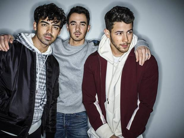 Jonas Brothers [Photo by Peggy Sirota]