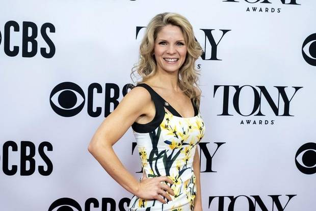 "Kelli O'Hara participates in the 73rd annual Tony Awards ""Meet the Nominees"" press day at the Sofitel New York on Wednesday, May 1, 2019, in new York. [Photo by Charles Sykes/Invision/AP]"
