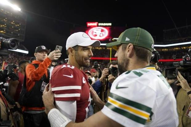 49ers-Packers is a tale of two quarterbacks, and it might not be a pretty one