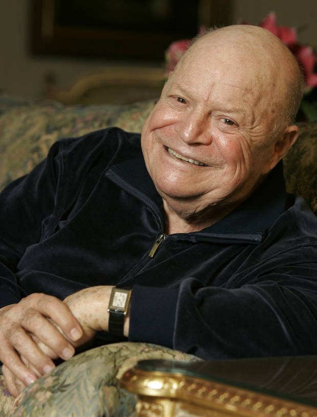 "** ADVANCE FOR WEEKEND EDITIONS, JULY 5-8 **Comedian Don Rickles smiles during an interview in New York, May 18, 2007, about his memoir ""Rickles' Book""  (AP Photo/Richard Drew) ORG XMIT: NYET349"