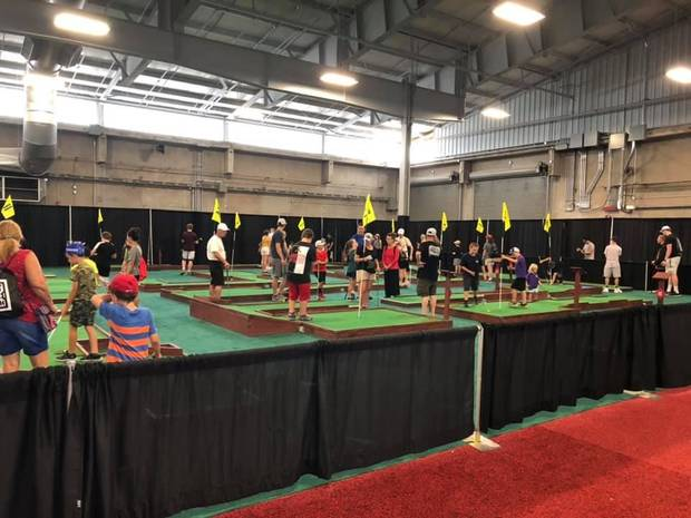 Ever popular mini-golf will return to the OKC Auto Show this year.[PHOTO PROVIDED]