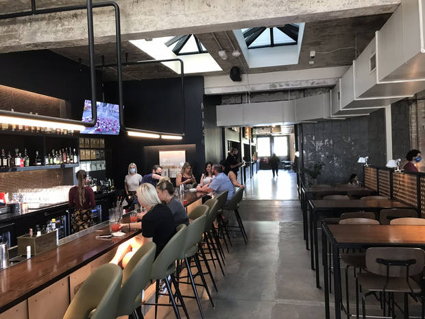 A look inside Parlor in downtown Oklahoma City. [Dave Cathey/The Oklahoman]
