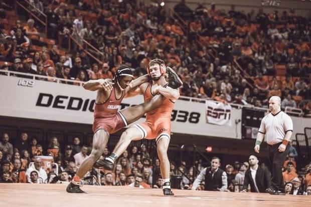 'It's gonna be fireworks': OSU wrestling excited for dual with top-ranked Iowa