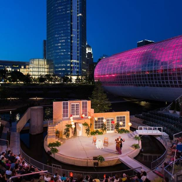 "Oklahoma Shakespeare in the Park is launching its 33rd summer season June 1 at the Myriad Gardens' Water Stage with ""The Taming of the Shrew."" Photo provided"