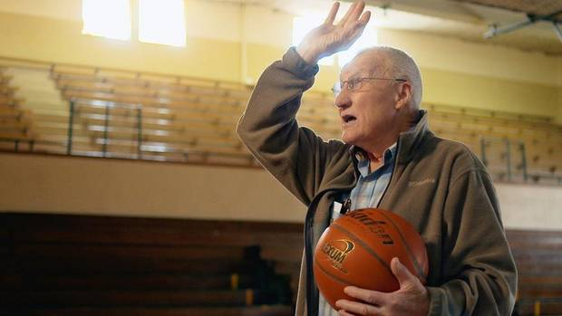 "Kenny Sailors is shown in a scene from ""Jump Shot."" [Photo provided]"