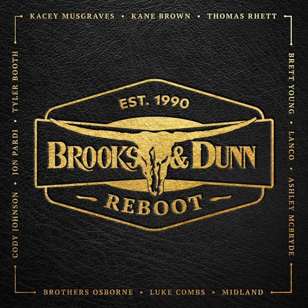 "Brooks & Dunn released their collaborative album ""Reboot"" April 5. Album cover art provided"