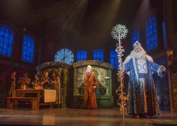 Interview Photos And Video Lyric Theatres A Christmas Carol