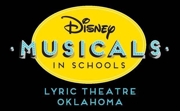 Through the program, participating schools produce a Disney KIDS musical in their school community and join in a culminating performance at the Civic Center Music Hall. [Logo provided]