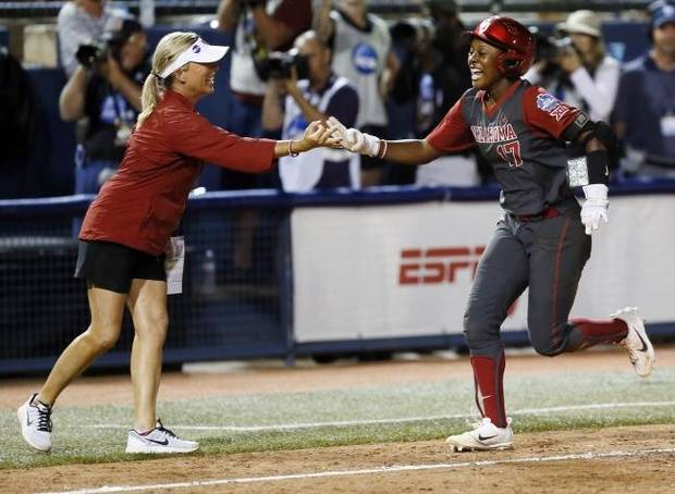OU softball: Former Sooners back as assistants, learning about coaching from Patty Gasso