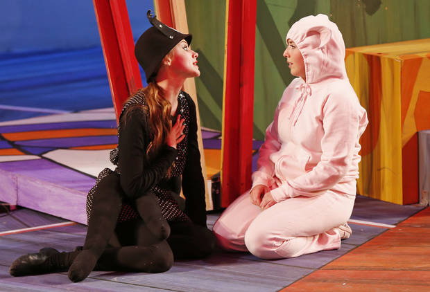 "Oklahoma Children's Theatre produced a stage adaptation of the popular children's story, ""Charlotte's Web,"" last year at Oklahoma City University. [Photo by Nate Billings, The Oklahoman]"
