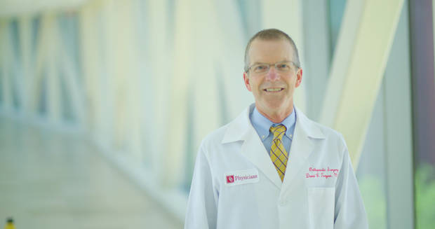 David Teague, MD, is OU Physicians Director of Adult Services, Perioperative Surgical Director of OU Medical Center and Department Chair of Orthopedics. [PHOTO PROVIDED]