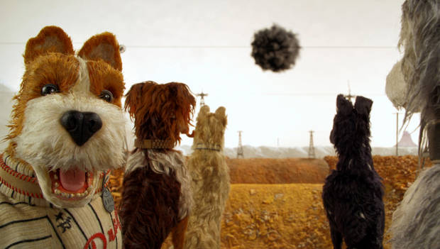 "Bill Murray, left, as ""Boss"" in ""Isle of Dogs."" [Photo provided by Fox Searchlight Pictures]"