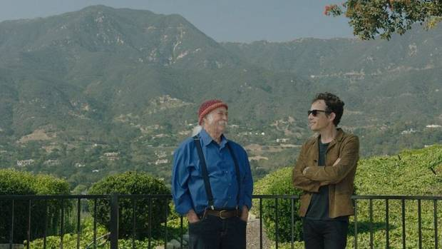 "David Crosby, left, and Jakob Dylan appear in ""Echo in the Canyon."" [Greenwich Entertainment]"