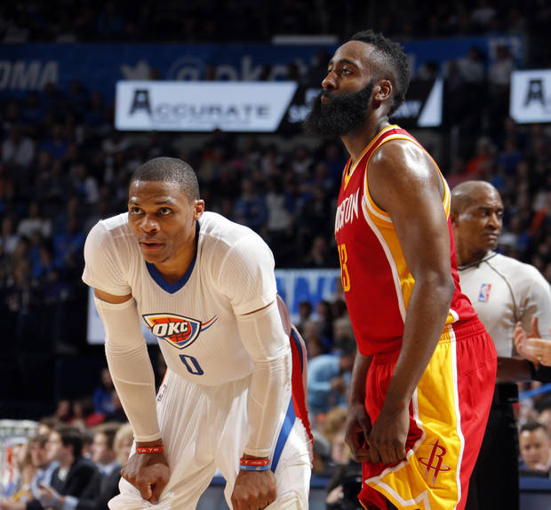 Houston Rockets Vs Okc: James Harden On Michael Jordan Inducting Russell Westbrook