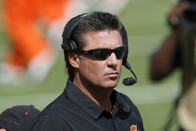 Oklahoma State football: Mike Gundy takes blame for ...