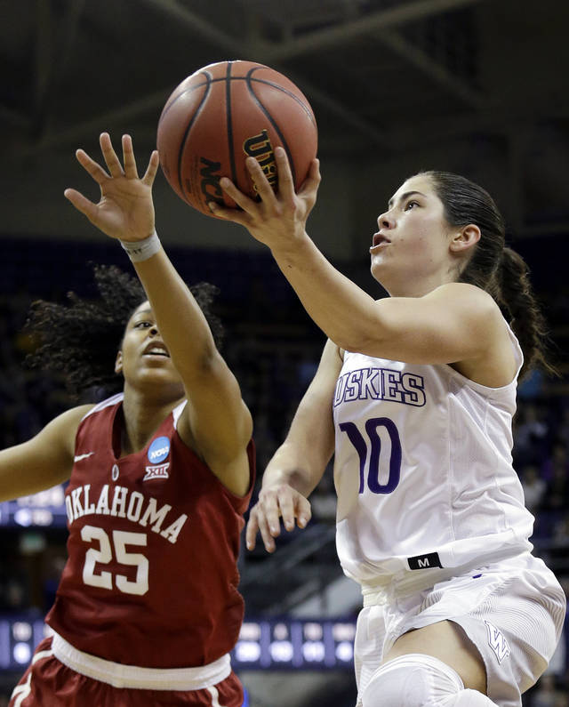 Washington's Kelsey Plum breaks NCAA single-season scoring record
