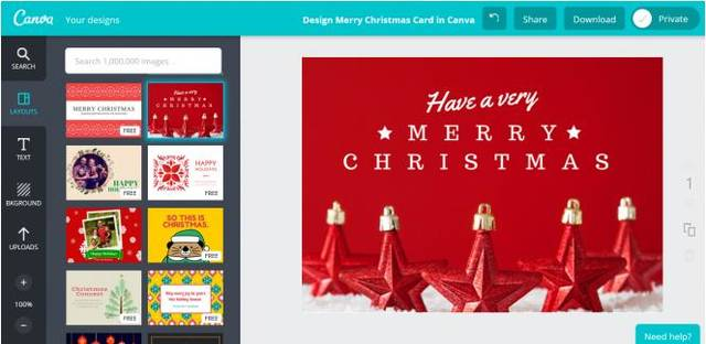 App finder top apps for creating holiday cards and invitations canva card maker photo provided stopboris Images