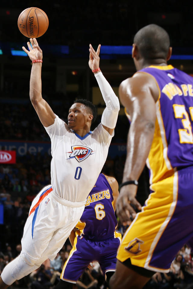 russell westbrook stunningly left - photo #2