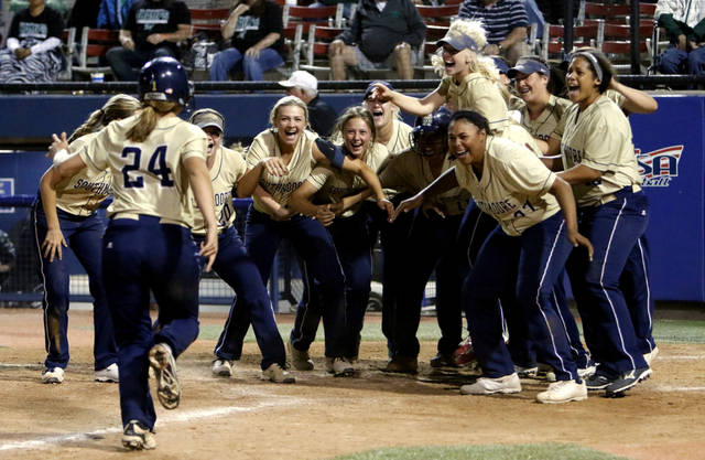 High school slowpitch softball southmoore taking relaxed approach southmoore returns this spring with a loaded roster after winning the class 6a title last spring sciox Gallery