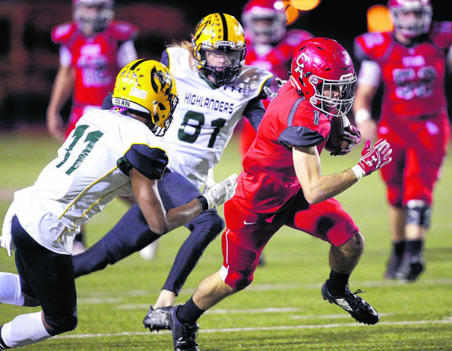 High school football: Carl Albert uses halftime message to rout Lawton MacArthur Image