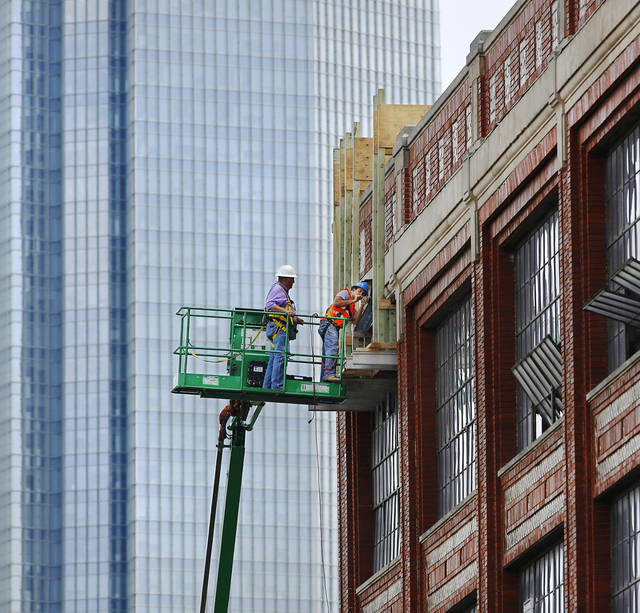 Oklahoma city 39 s downtown development edging west news ok for Apartments across from motor city casino